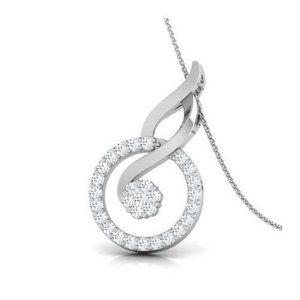 Jewelry - 4.5 Carats brilliant cut diamonds pendant necklace